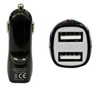 UNIVERSAL BILLADDARE MED DUBBLA USB-PORTAR