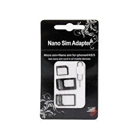 NANO SIM & MICRO SIM ADAPTER - 3 i 1 - NANO SIM & MICRO SIM ADAPTER - 3 i 1