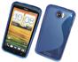 MJUKT S-SKAL TILL HTC ONE X - MJUKT S-SKAL TILL HTC ONE X -BLÅ
