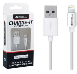 USB LADDKABEL TILL IPHONE 5, 5S, 5C, 6 - USB LADDKABEL TILL IPHONE 5