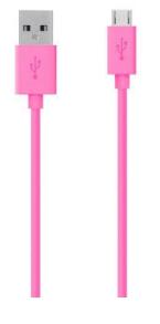 MICRO USB KABEL -3 METER - MICRO USB KABEL -3 METER -ROSA