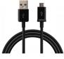 MICRO USB KABEL -3 METER - MICRO USB KABEL -3 METER -SVART