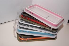 BUMPER TILL IPHONE 4, 4S - BUMPER TILL IPHONE 4, 4S -SVART/RÖD