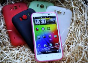 SILIKONSKAL TILL HTC SENSATION XL  - SILIKONSKAL TILL HTC SENSATION XL -GRÖN