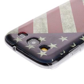 SKAL TILL GALAXY S3. USA FLAGGA, VINTAGE - SKAL TILL GALAXY S3. USA FLAGGA, VINTAGE