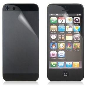 SKYDDSFILM TILL IPHONE 5  FRAM+BAK - SKYDDSFILM TILL IPHONE 5  FRAM+BAK