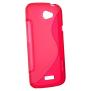 MJUKT S-SKAL TILL HTC ONE X - MJUKT S-SKAL TILL HTC ONE X -RÖD