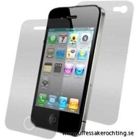 SKYDDSFILM TILL IPHONE 4,4s  FRAM+BAK - SKYDDSFILM TILL IPHONE 4,4s  FRAM+BAK