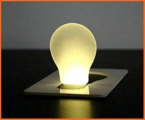 KORT LED-LAMPA - KORT LED-LAMPA