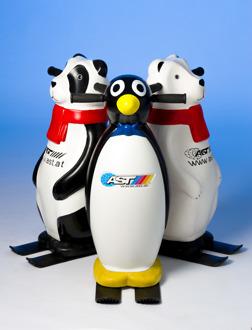 Panda, Pinguin eller Isbjörn gör det kul att lära sig åka skridskor!