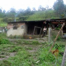 Min Colombianska mormors hus i byn Gatchéta.