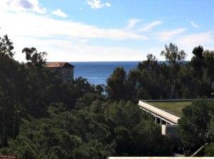 Utsikt från Getty Villa.