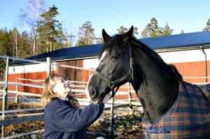 Agneta och hennes älskade Marwin