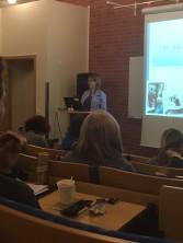 Eva Bertilsson (Carpemomentum.nu)  under sin föreläsning