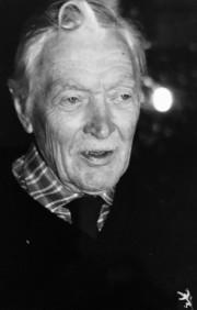 Farfar Lennart på 80-årsdagen.