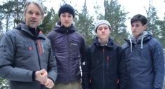 Ledare BiggestWinner:Far&Son: Torgny, Nicklas, Emil och Richard Steen