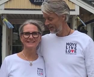 Anna och Torgny efter Mindful Movement kurs hösten 2019