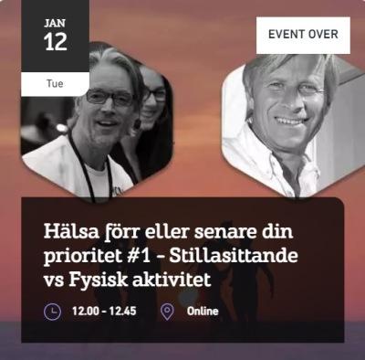Gästexpert: Johan Holmsäter, Friskvårdsrebell och grundare Friskis&Svettis