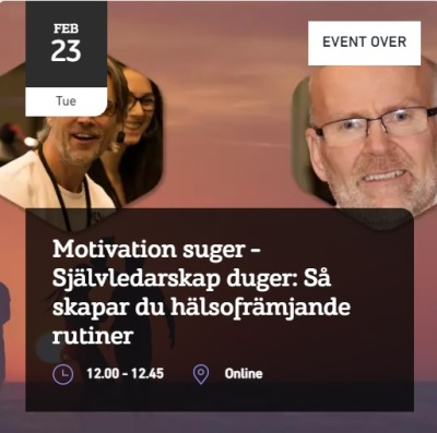 Gästexpert: Pehr-Johan Fager, Ordförande Hälsofrämjandet