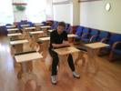 Klassrum med 15 Plugghästar