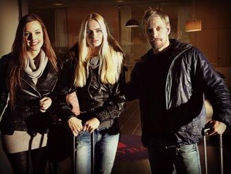 Erik Bolin som Marek Ivanov tillsammans med Lidia Kolpakova och Christa Aysia i en kortfilm om trafficking producerad av Drakfilm