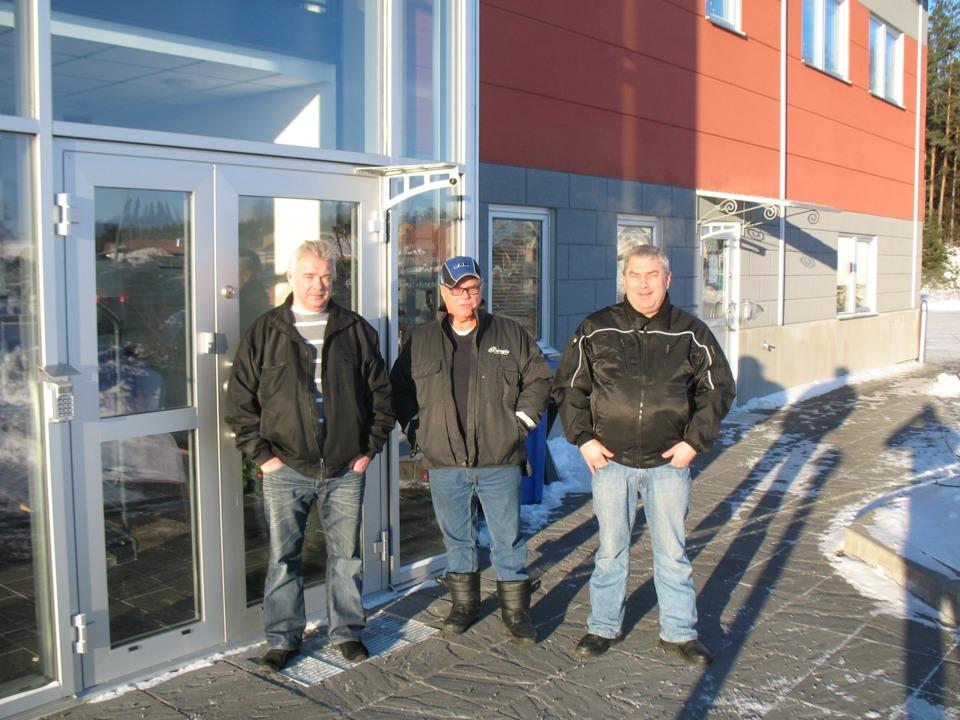 Tony, Bengt och Håkan Johansson