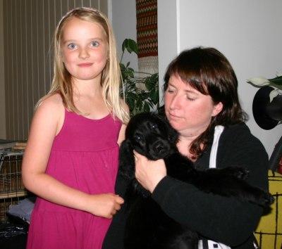 Lily, Maja og Mette