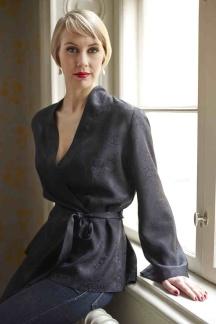Kort kimonojacka Ginger Rogers - Kort kimonjacka 0802M