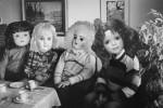 """""""Sista sockerbiten ensam kvar"""" från utställninegn Docksött- ett spel för gallerierna, 22/8-15/9 2019."""