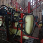 Hardi spruta 1000 l ,12 m dåligt tryck,extrapump,fint skick.
