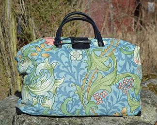 Väska William Morris - Golden Lily Ljusblå - Väska William Morris - Golden Lily Ljusblå