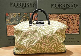 Väska William Morris - Willow Bough Ljusgrön - Väska William Morris - Willow Bough Ljusgrön