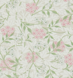 Tapet William Morris - Jasmine - William Morris Jasmine Rosa