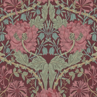 Tapet William Morris - Honeysuckle & Tulip