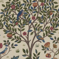 Tyg William Morris - Kelmscott tree