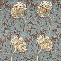 Tyg William Morris - Tulip