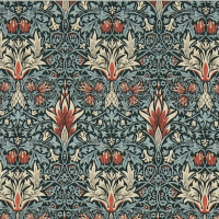 Tyg William Morris - Snakeshead
