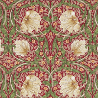 Tyg William Morris - Pimpernel
