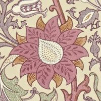 Tapet William Morris - Pink & Rose