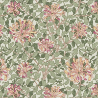 Tyg William Morris - Honeysuckle