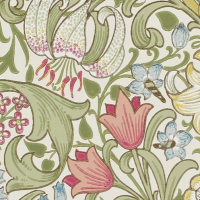 Tapet William Morris - Golden Lily
