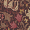 Tapet William Morris - Golden Lily - William Morris Golden Lily Brun