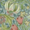 Tapet William Morris - Golden Lily - William Morris Golden Lily Ljusblå