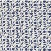 Tyg William Morris - Rosehip - William Morris Rosehip Mörkblå