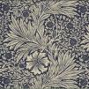Tyg William Morris - Marigold - William Morris-Marigold Mörkblå