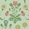 Tapet William Morris - Daisy  - William Morris Daisy Grön