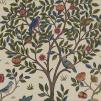 Tyg William Morris - Kelmscott tree - William Morris Kelmscott tree Blå