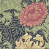 Tapet William Morris - Chrysanthemum - William Morris Chrysanthemum Röd
