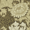 Tapet William Morris - Chrysanthemum - William Morris Chrysanthemum Brun