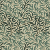 Tyg William Morris - Willow Boughs Bomull - William Morris - Willow Bough Mörkgrön